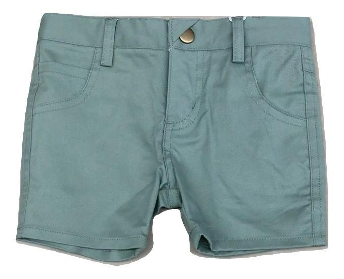 Crew Kids Short Chinos - Sage