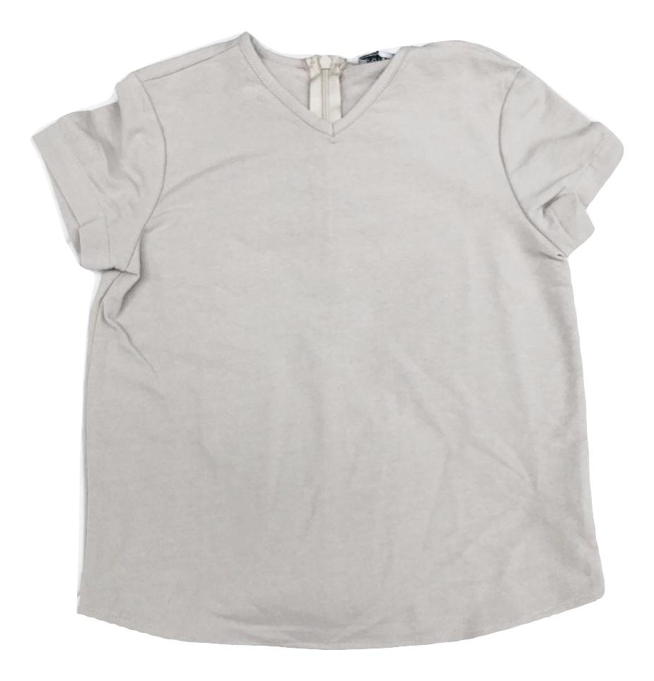 Petit Clair Boys V-neck Top - Taupe