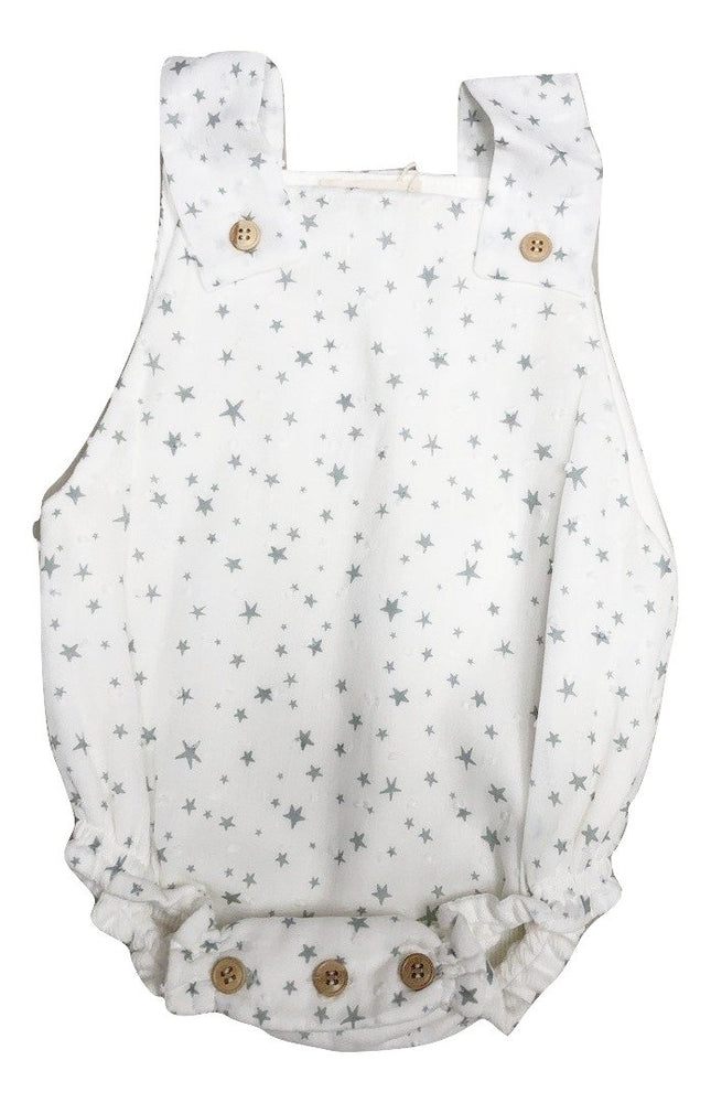 Melico Green Star Romper