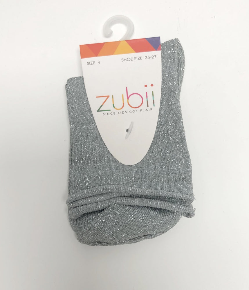 Zubii Ankle Sock - Sparkle Grey