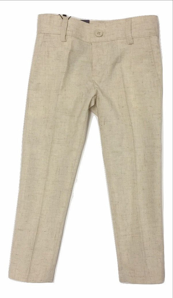 Armando Martillo Linen-look Skinny Pants - Beige