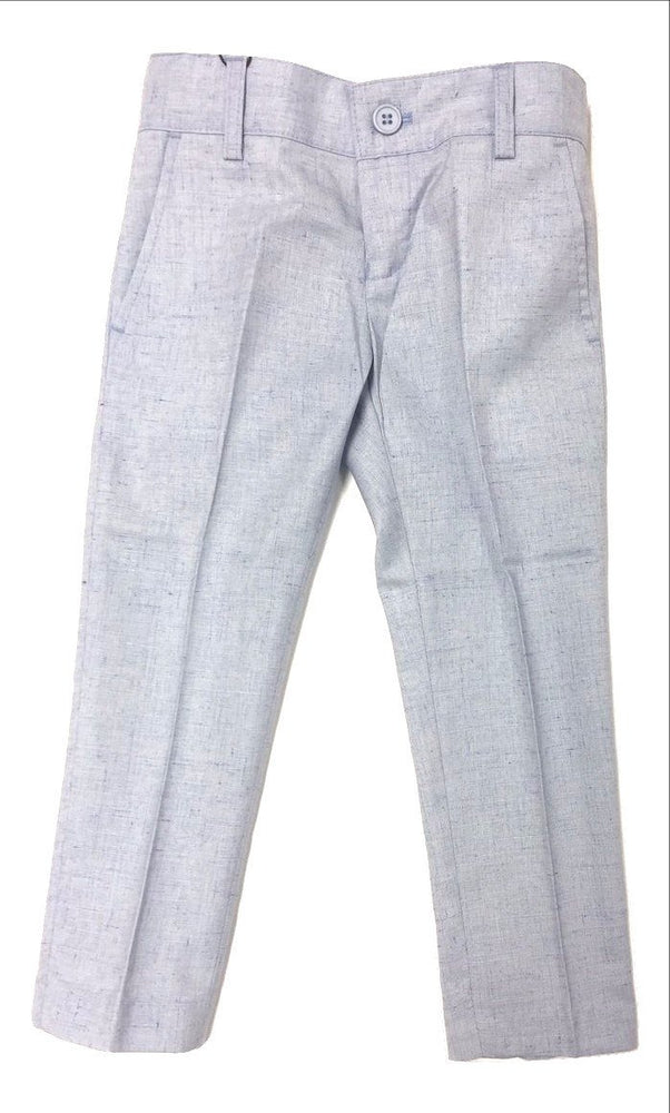 Armando Martillo Linen-look Skinny Pants - Light Blue