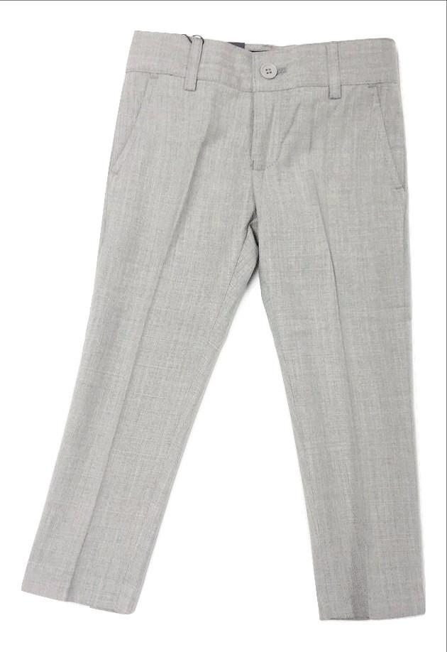 Armando Martillo Linen-look Skinny Pants - Light Grey