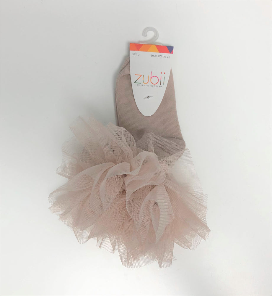 Zubii Tutu Sock - Light Pink