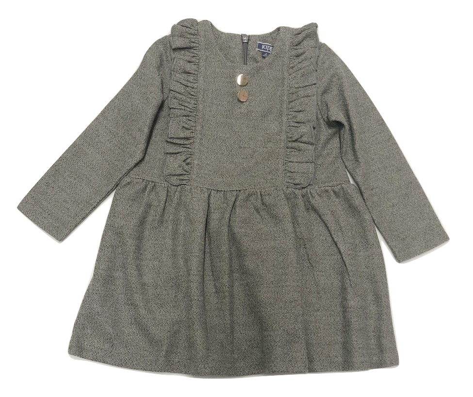 Kipp Knit Ruffle Dress