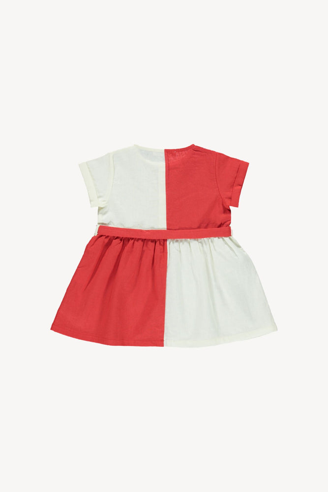 Fin & Vince Retro Dress - Brick Red
