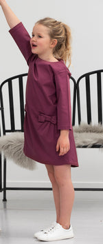 Elodiee Louise Dress- Berry