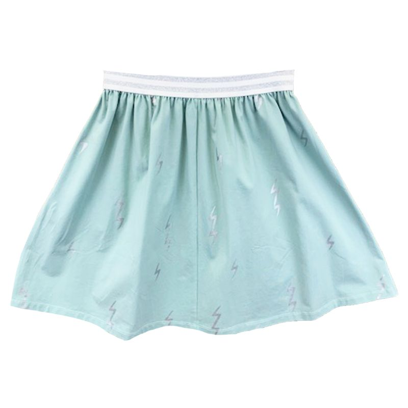 Meme Mint Lightning Skirt