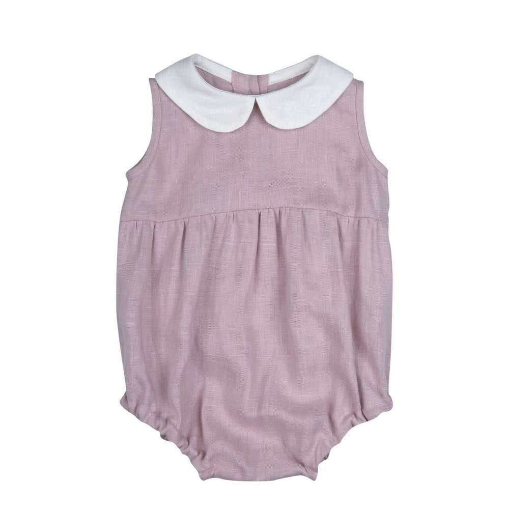 Bebe Organic Love Romper - Dusty Pink