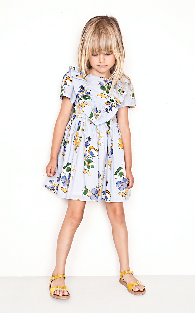 Morley Appleblossom Sky Dress
