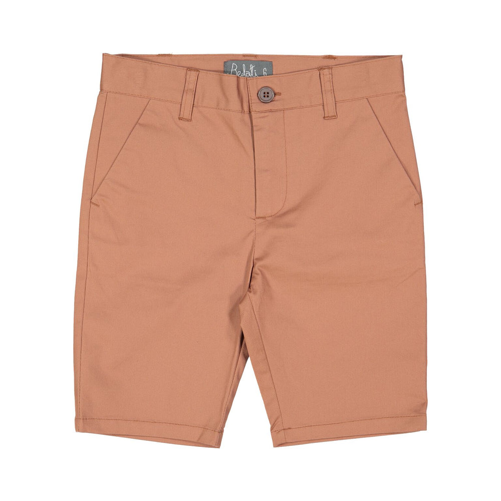 Belati Stretchy Cotton Bermudas - Sienna