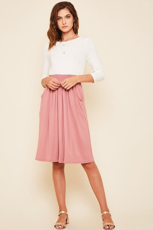 Pepe Dress - Mauve