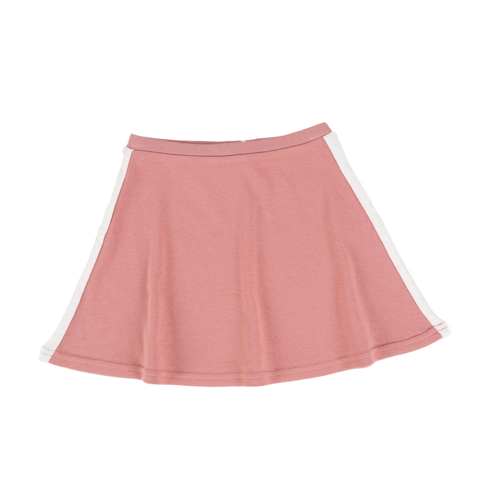 Analogie by Lil Legs Linear Skirt - Pink/White