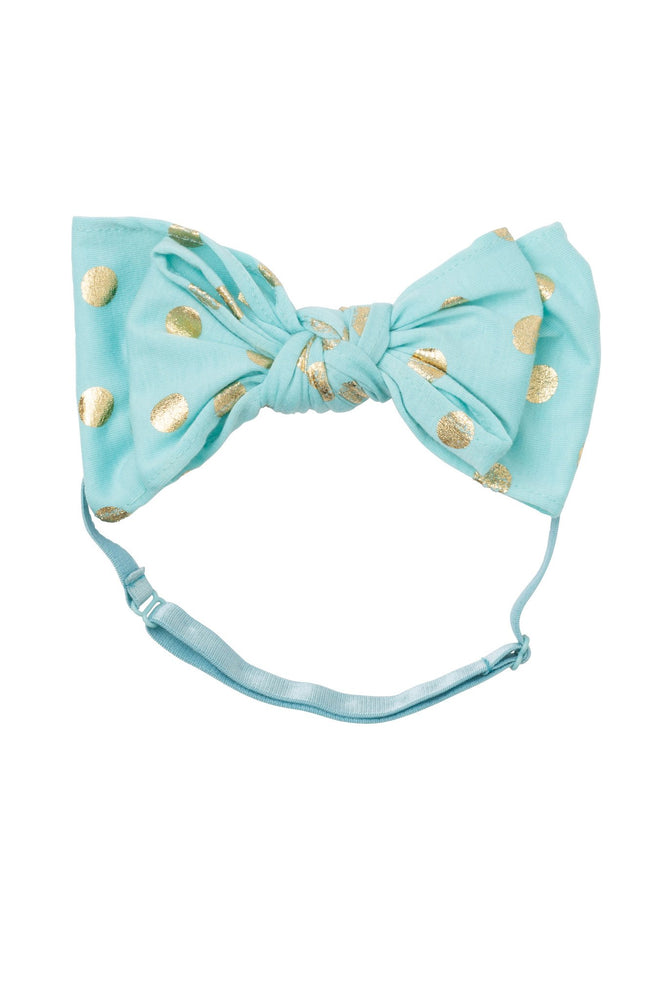 Project 6 Baby Floppy Bow Headband - Teal