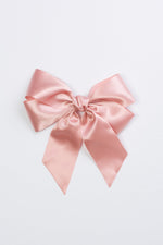 Project 6 Oversized Bow Pony & Clip - Sweet Nectar