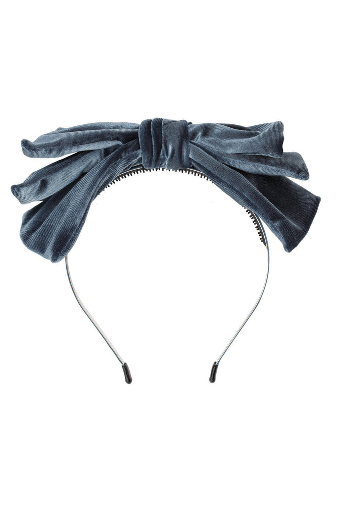 Project 6 Baby Doll Headband - Blue Velvet
