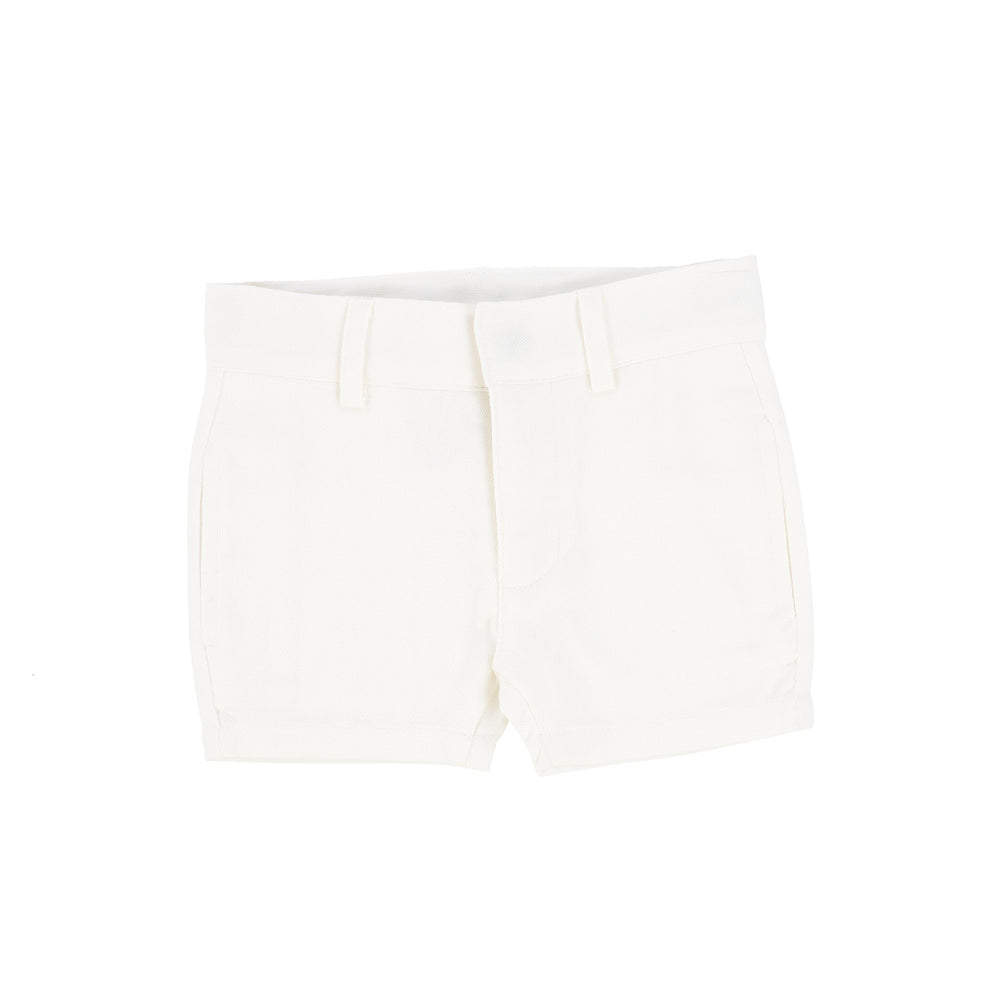 Analogie by Lil Legs Boys Dress Shorts - White