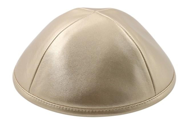 iKippah Rose Gold Leather