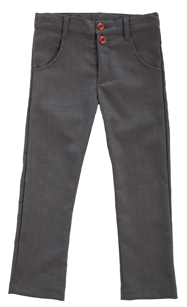 Little Cocoon Boys Dress Pant - Charcoal