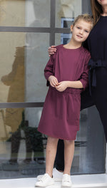 Elodiee Tina Dress- Berry
