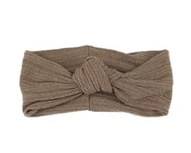 Elivia & Co Knotted Headband - Taupe