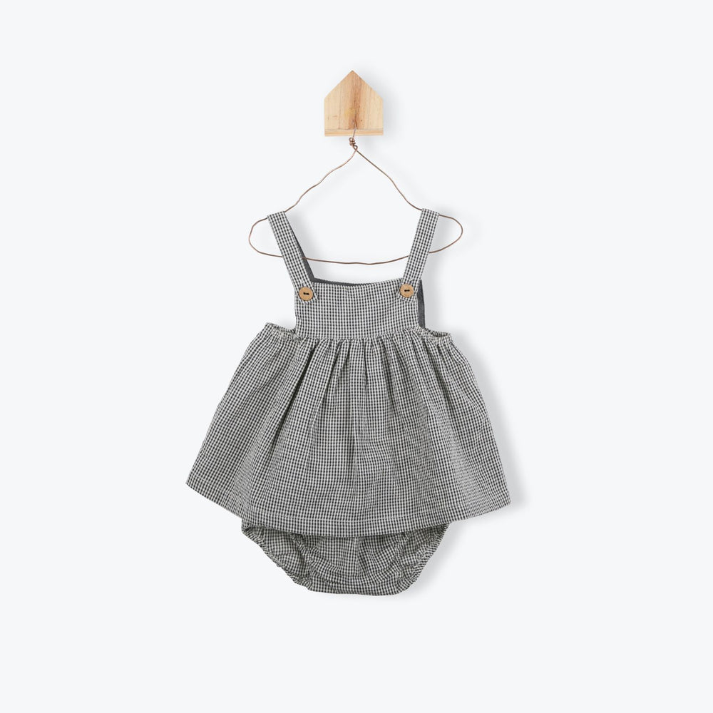Arsene Gingham Baby Dress