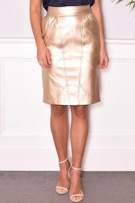 April Skirt - Gold