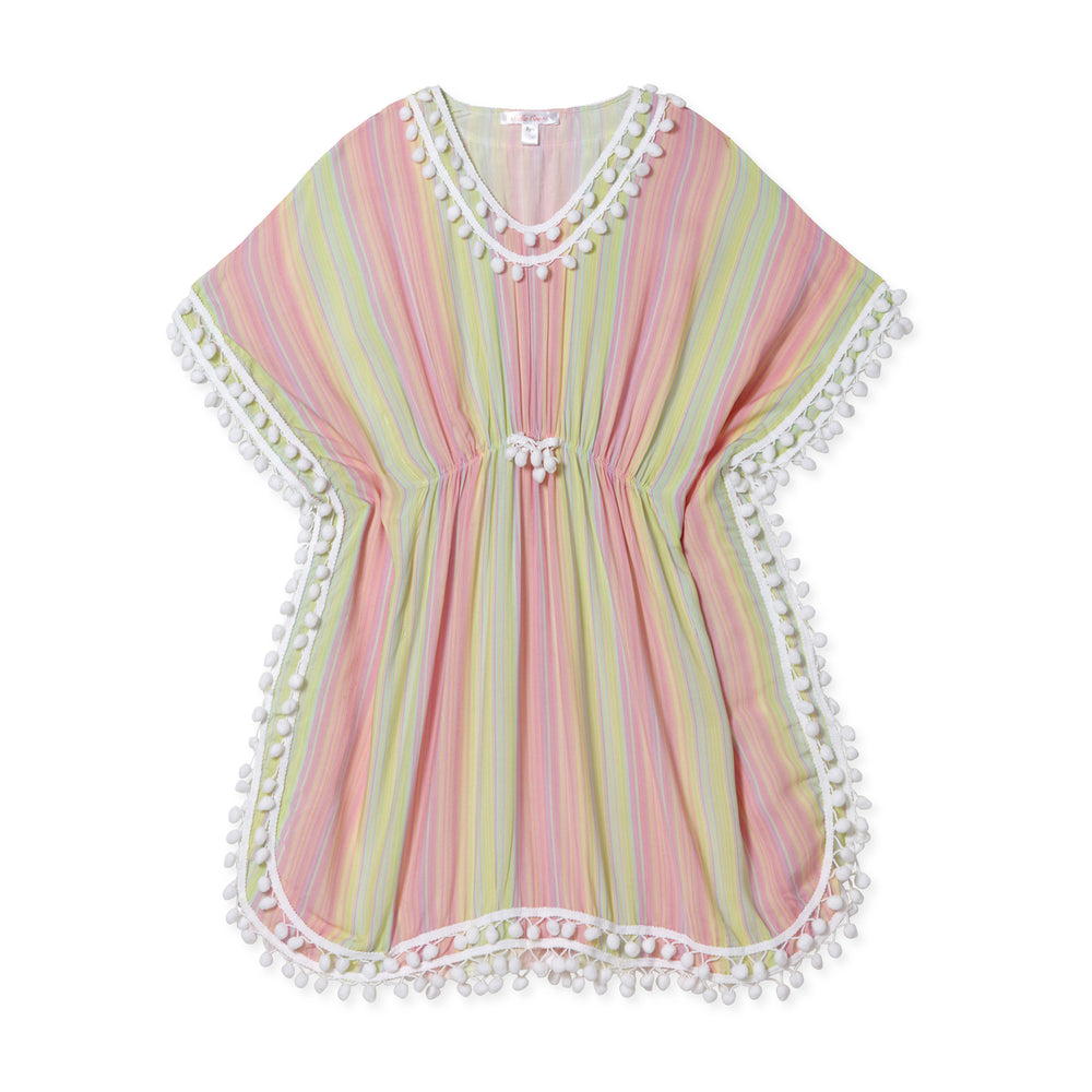Stella Cove Pastel Striped Coverup