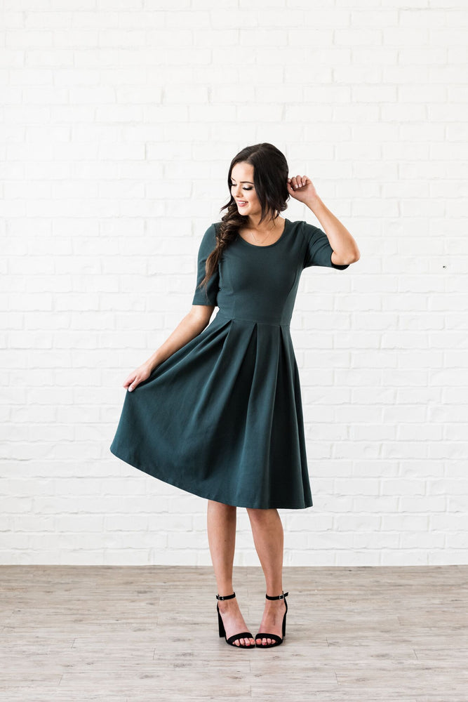 Emerald Branch Dress