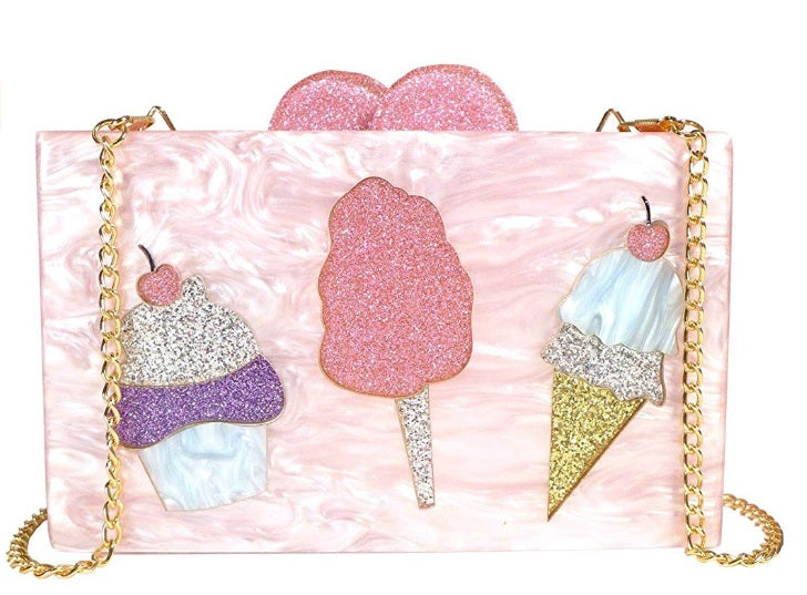 Bari Lynn Sweet Ice Cream Clutch