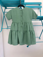 Nove Green Tiered Dress