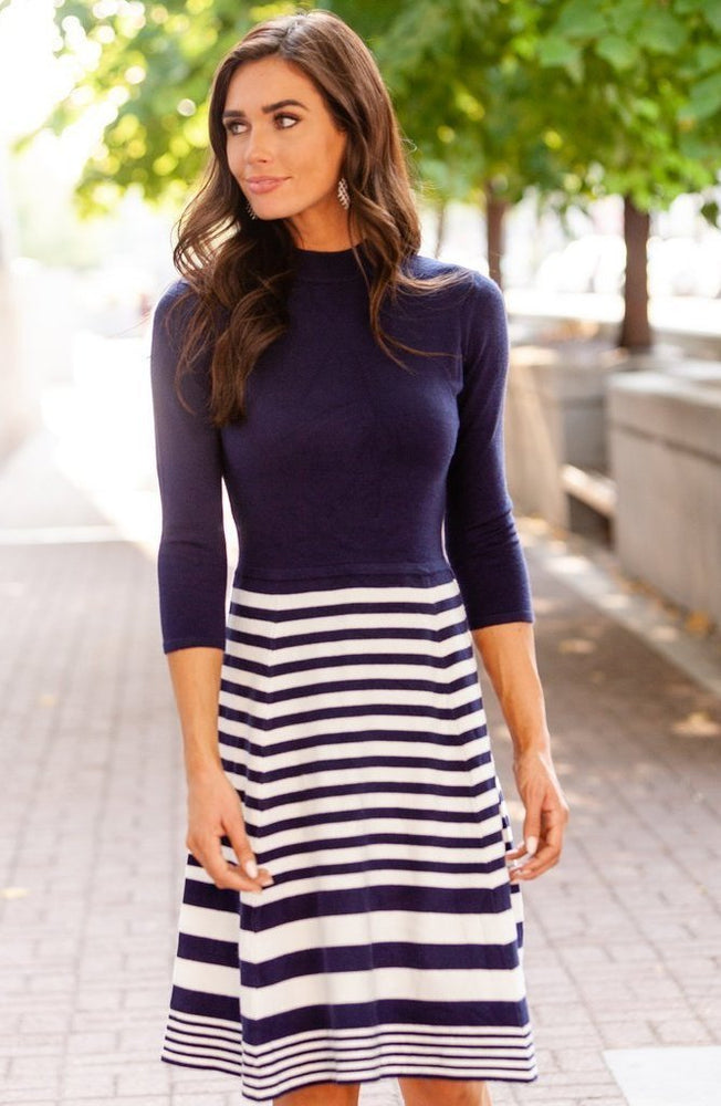 Knit Sweater Dress