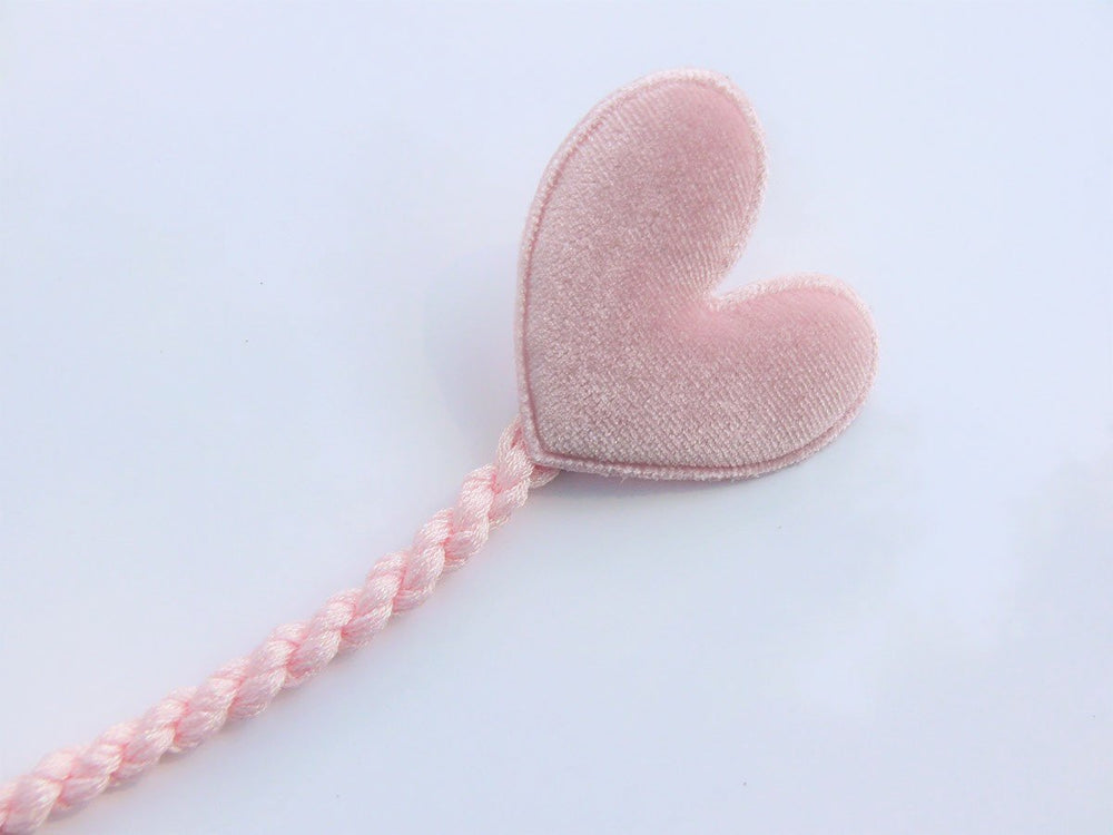 Sweetheart Pacifier Clip - Pink