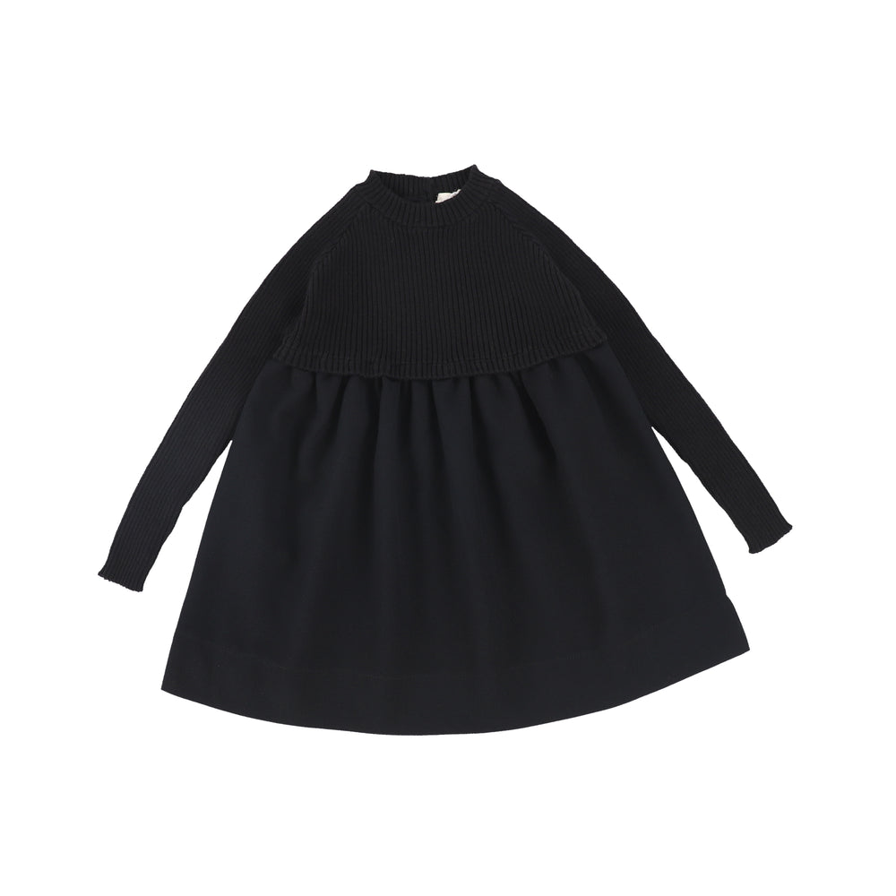 Analogie by Lil Legs Knit Dress - Black