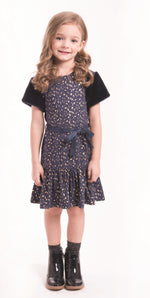 Imoga Journey Dress - Confetti Navy