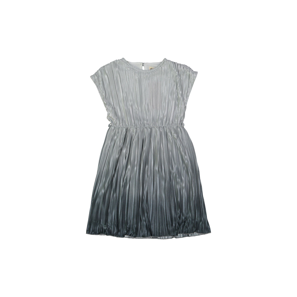 Nove Pleated Ombre Dress