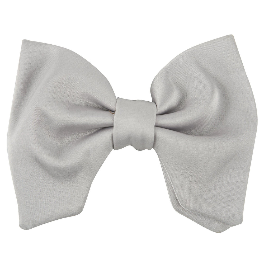 Project 6 Avant Garde Oversized Bowtie - Light Grey