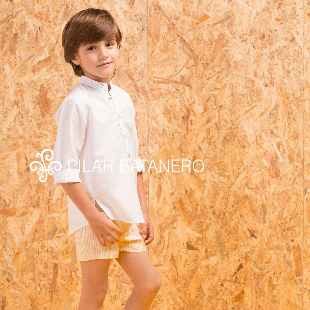 Pilar Batanero Boys White Shirt