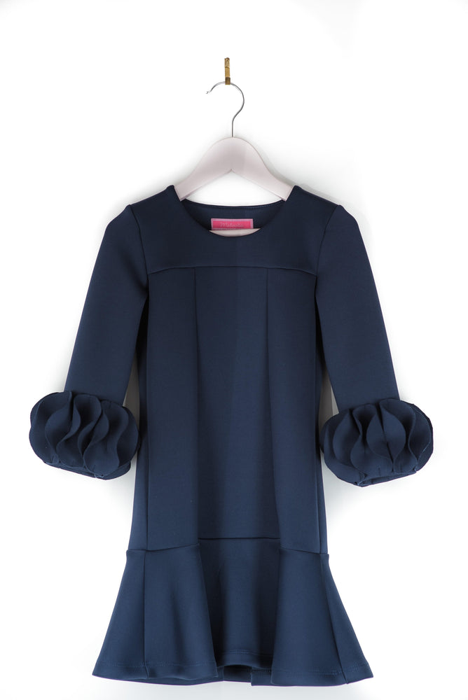 Matooka Shift Bulb Dress - Navy