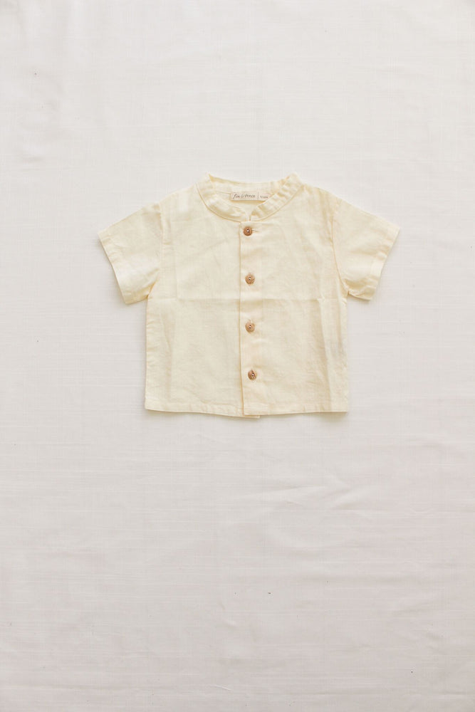 Fin & Vince Button Down Shirt - Natural