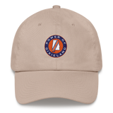 Khaki Circle POD logo Hat
