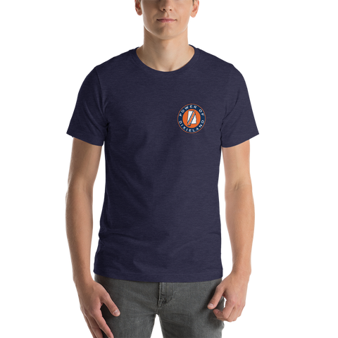 Navy Circle POD Logo T-Shirt