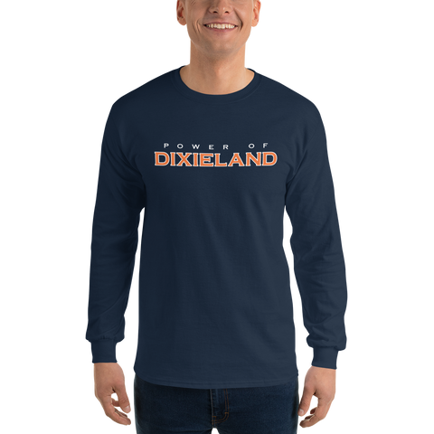 Power of Dixieland Logo Long Sleeve T-Shirt