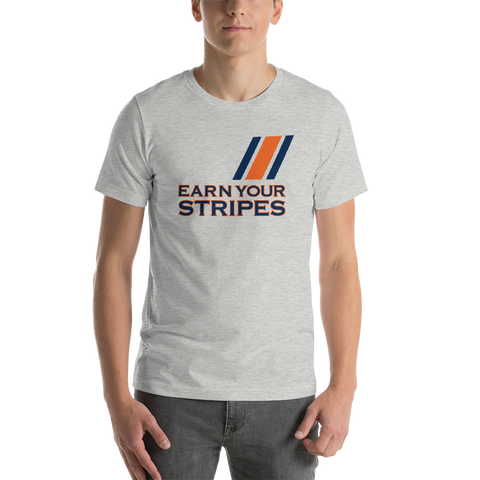 Gray Earn Your Stripes T-Shirt