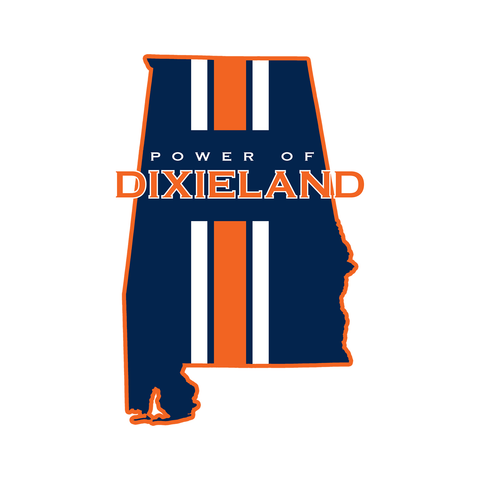 Power of Dixieland State Sticker