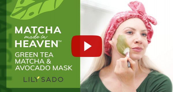 Green Tea Matcha + Avocado Detox Antioxidant Mask