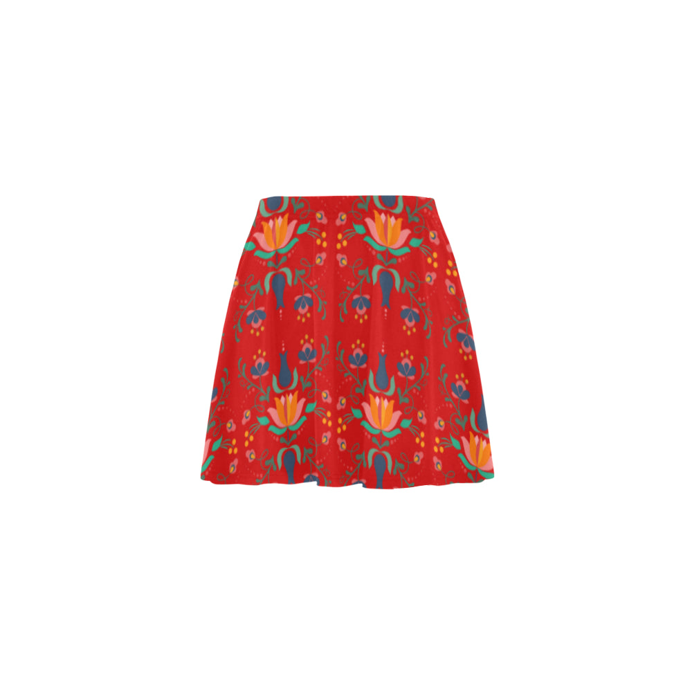 Folklore Mini Skater Skirt