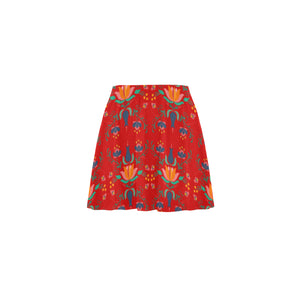 Folklore Mini Skater Skirt - Hapyrel
