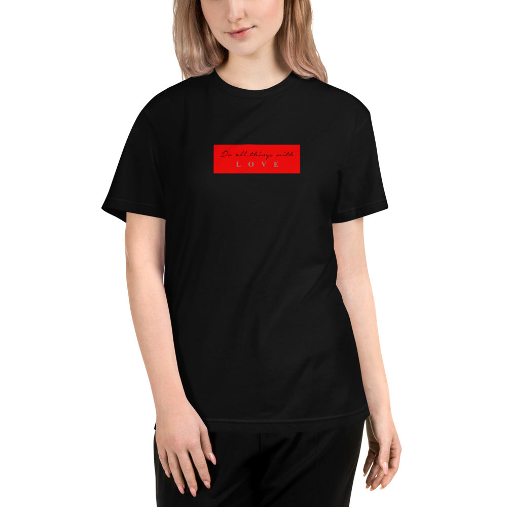 Do all things Unisex Eco Tee - Hapyrel
