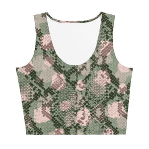 Snake Crop Top - Hapyrel